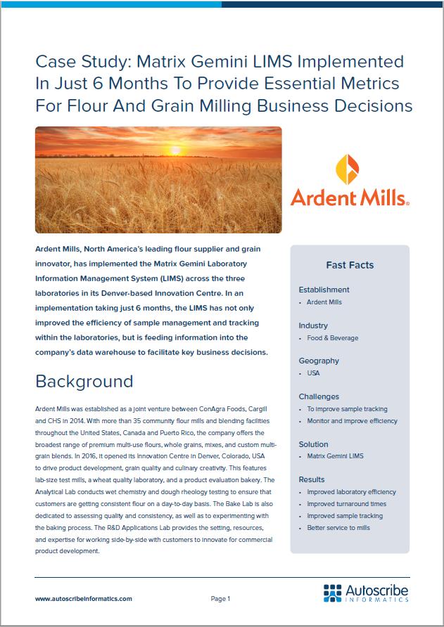 Ardent Mills PR